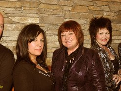 The Queen Divas of the Universe: Ronni Lee, Shaaron Schuemaker, and Laurie Lewis.