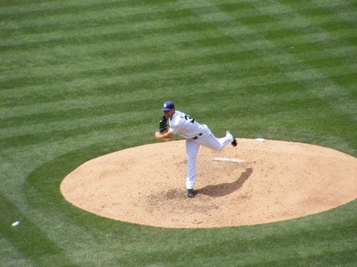 Padres pitcher Clayton Richard on Wednesday