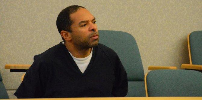 Louis Perez in court. Photo Bob Weatherston.