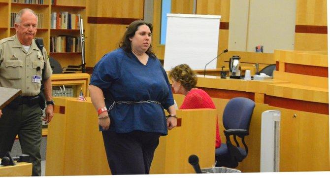 The note was found w Jessica Lopez. Photo Bob Weatherston.