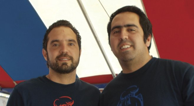 Mauricio and Diego