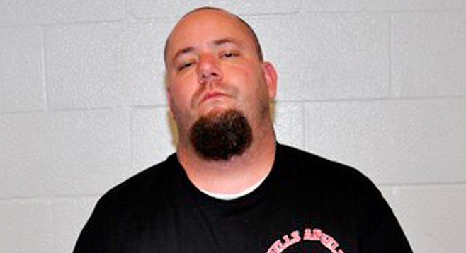 "Eric Wayne Thorsgard is a ""full patch"" member of the Hells Angels."