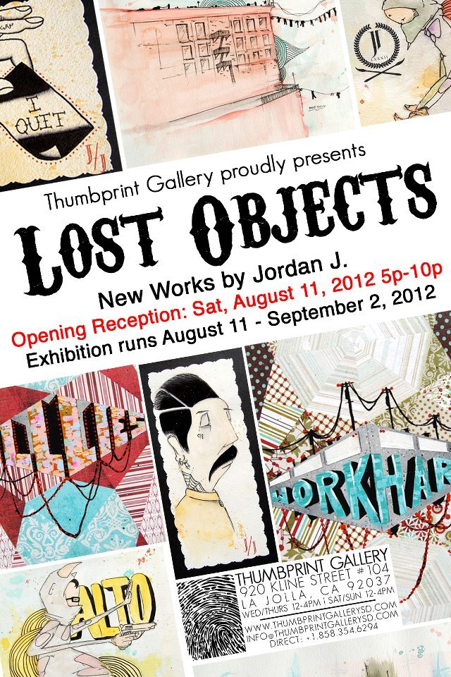 Jordan J Lost Objects
