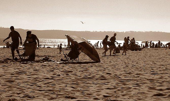 Coronado ,summer shadows