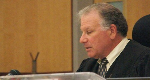 Judge Elias will decide if there is sufficient evidence.  Photo Bob Weatherston.