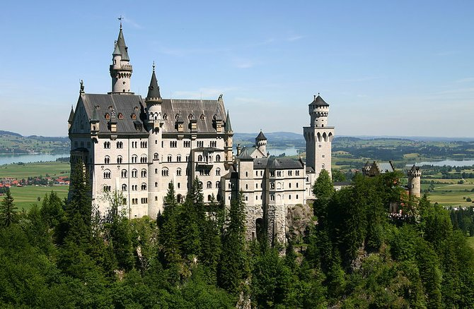 Neuschwanstein Castle, near Munich