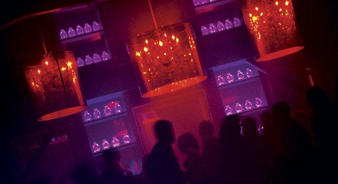 Electronic-music fans unite at Club Voyeur.