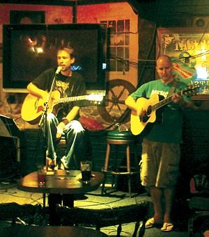 Open-mic Sunday at Blarney Stone.