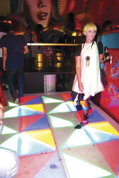 Get down on the light-up platform dancefloor at La Mija.