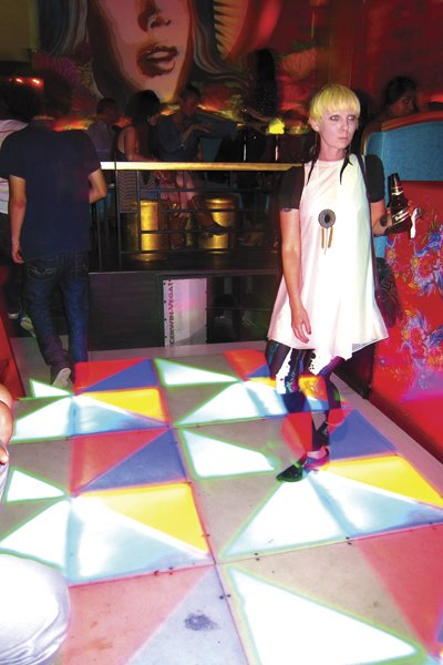 Get down on the light-up platform dancefloor at La Mija.