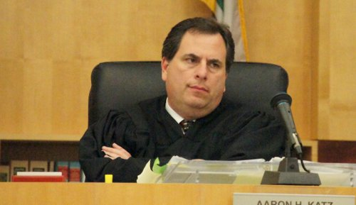 Superior Court Judge Aaron Katz.  Photo Bob Weatherston.