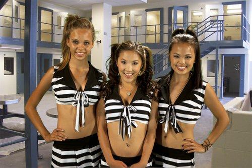 Pop Squirrels, left to right: Kailyn Voris, Ally Maki, Nikki SooHoo