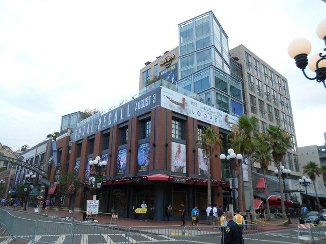 Hard Rock Hotel-downtown San Diego.