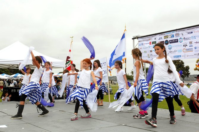 Tarbuton, Israeli Dance Troupe performs at San Diego Celebrates Israel Festival 2012.