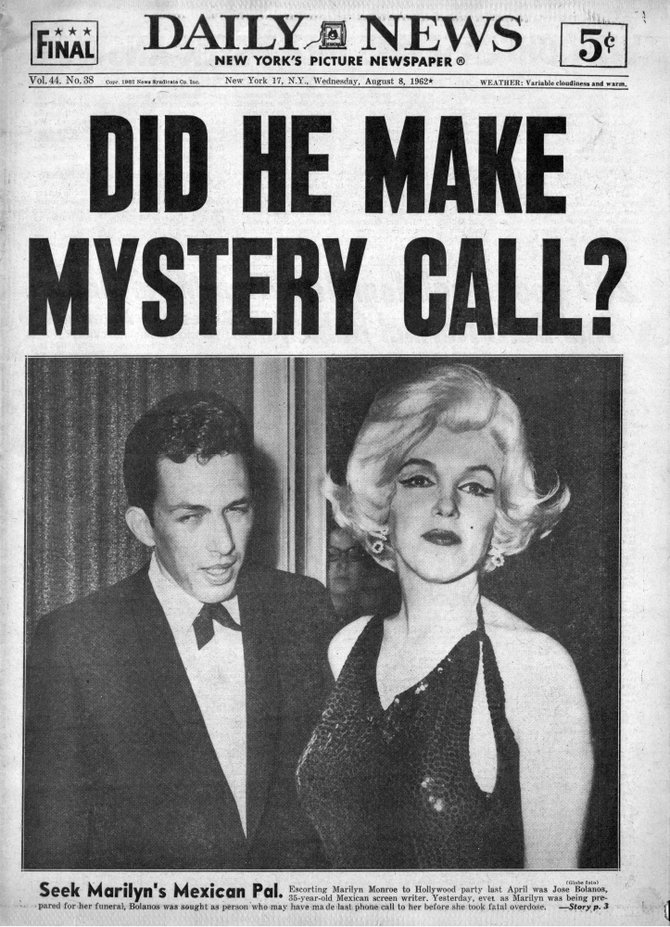 NEW YORK DAILY NEWS, Wednesday, August 8, 1962.