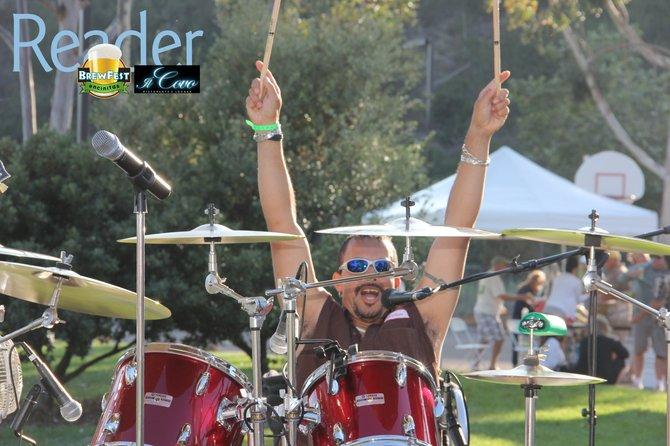 Drums! Yeah!