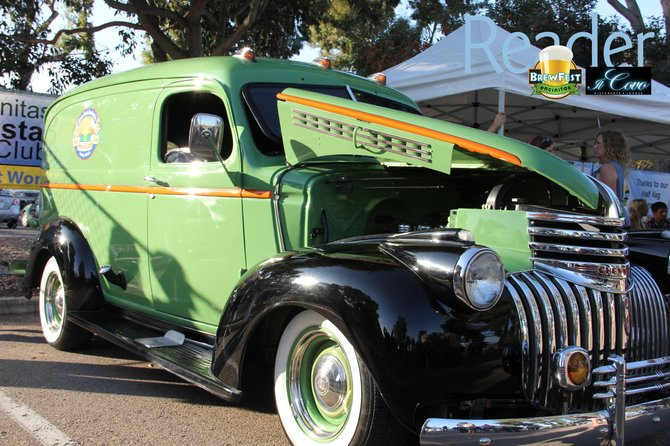 Green Flash's old Chevy
