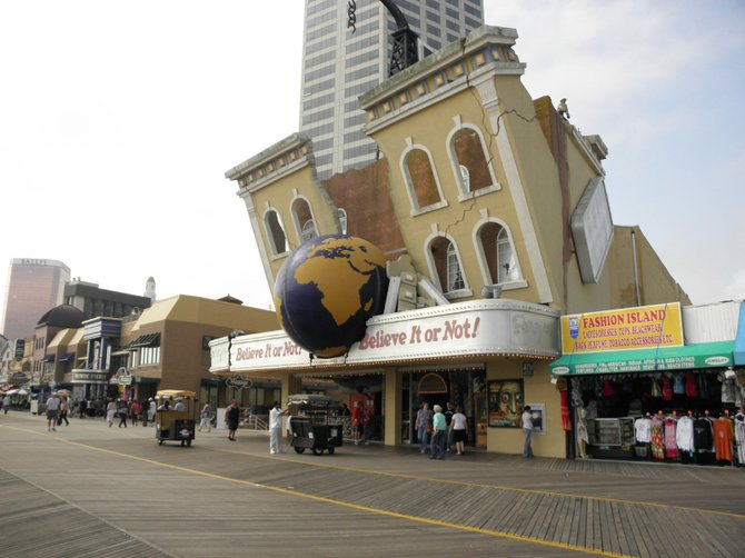 Believe or Not Museum,  Atlantic City, New Jersey