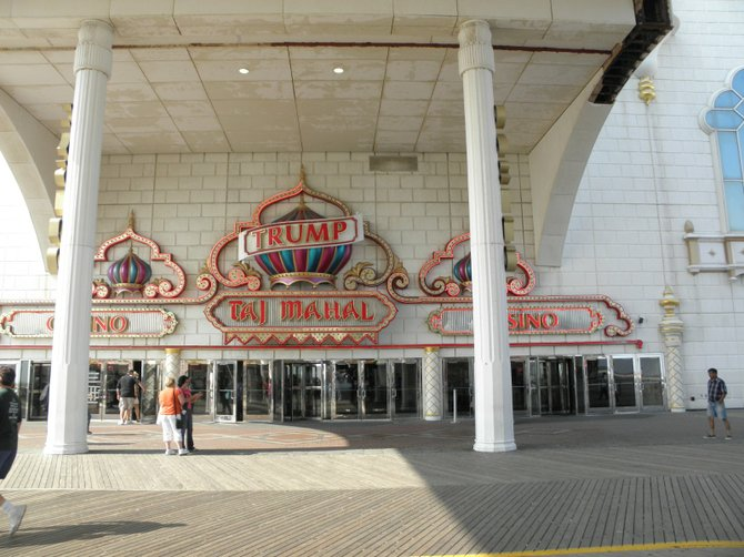 Taj Mahal Casino in Atlantic City, New Jersey