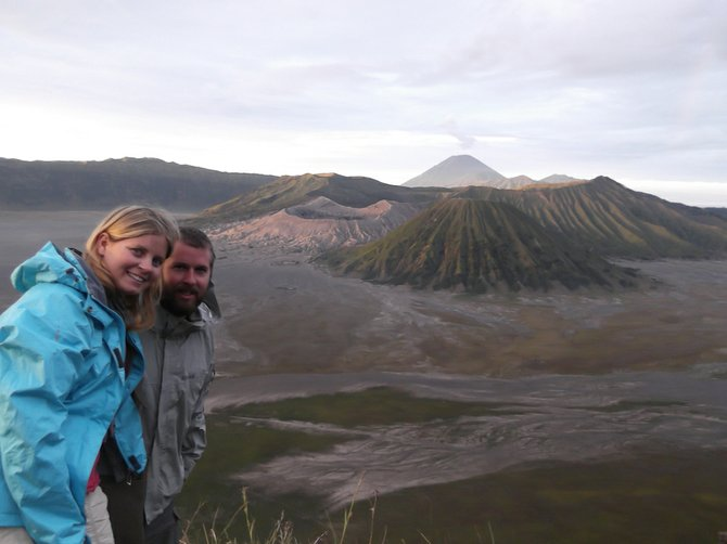 volcano hunting in Java