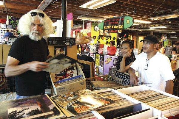 Rig Rag, Thrift Trader's vinyl buyer.