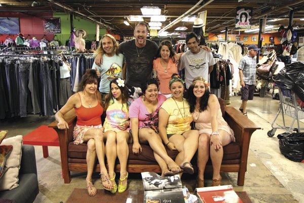 The North Park Thrift Trader staff