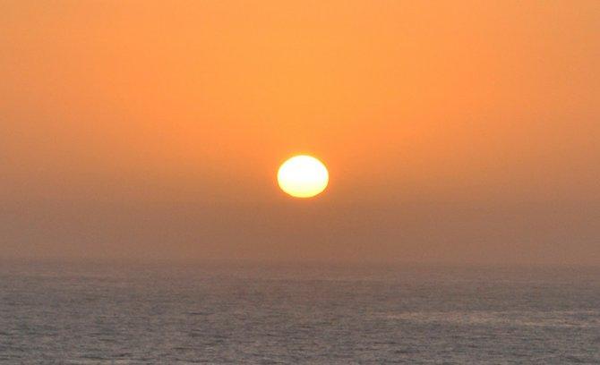 Sunset Rosarito Beach, Baja, Mexico