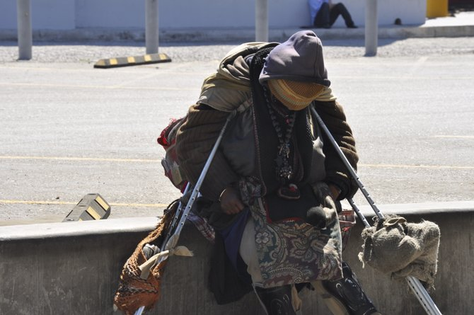 Homeless in Tijuana