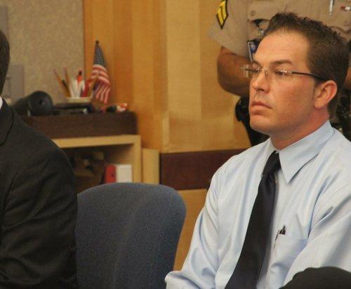 Border Patrol agent Gerald Torello, 35, in court August 9 2012.  Photo Weatherston.