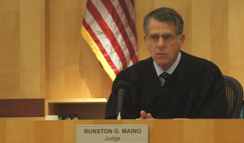 "Judge Maino said it was the ""worst"" case of its kind that he could recall.  Photo Weatherston."