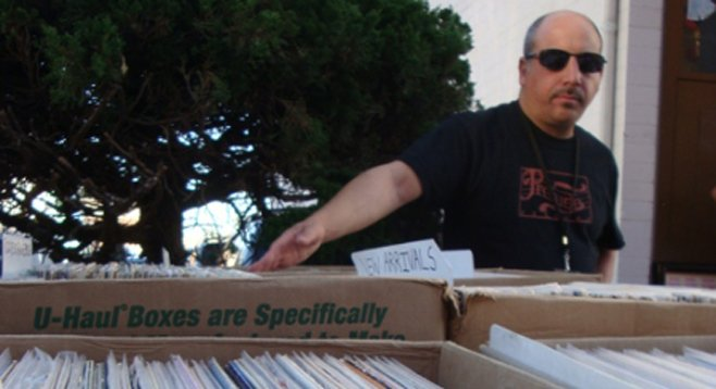 Groovy Records owner Steve Kader is a musical jack of all trades.
