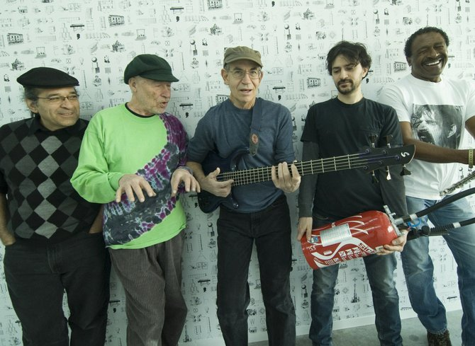 One-time Zappa backers Grandmothers of Invention take the stage at Anthology Friday night.