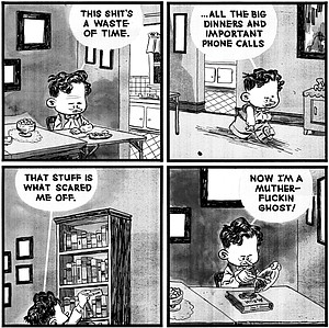 David King comic strip