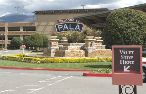Pala Casino.  Photo Bob Weatherston.