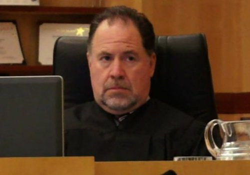Superior Court Judge Harry Powazek.  Photo Weatherston.