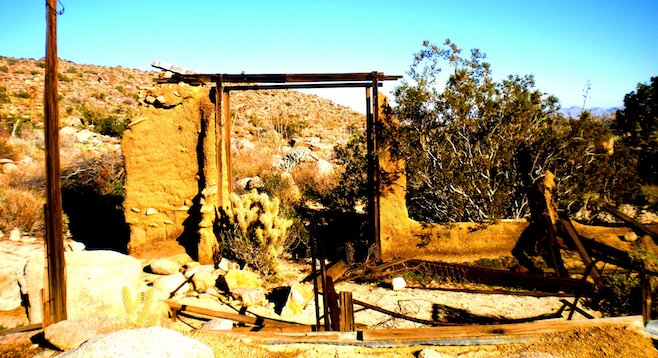 Discover the ruins of a '30s-era homestead atop the Anza-Borrego's Ghost Mountain.