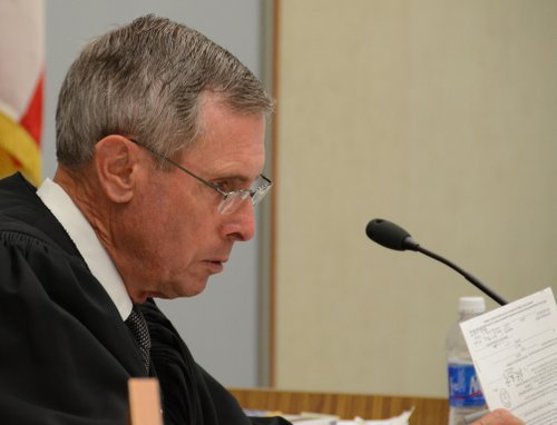 "Superior Court Judge Richard Mills said ""no deal"" and ordered Hidalgo back to court next month.  Photo Weatherston."