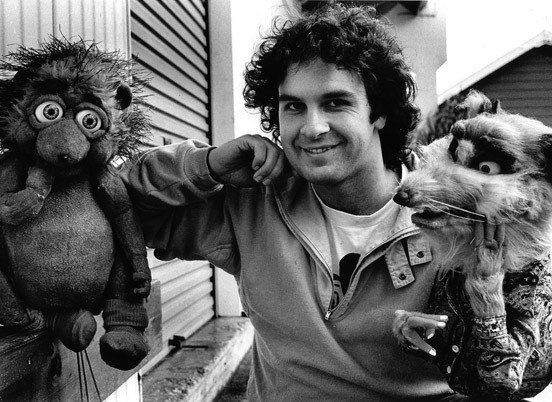 "During the making of ""Meet The Feebles""."