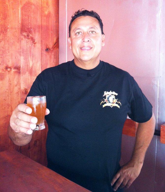 Indian Joe Brewing owner and brewer Max Moran