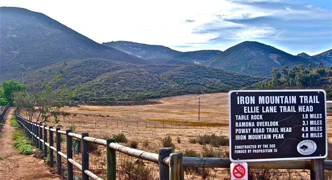 Iron Mountain Ellie Lane Trail