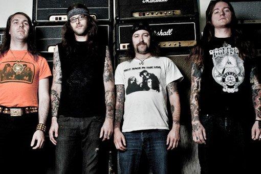 Bay Area stoner-metal band Saviours takes down the Shakedown on Wednesday.