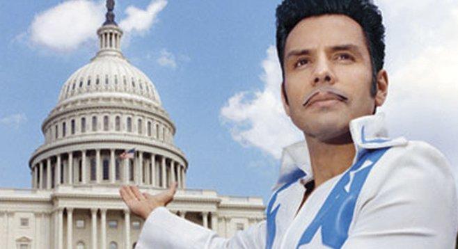 El Vez for Prez campaign hits Casbah Sunday night.