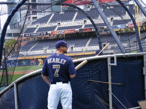 Padres 3rd baseman Chase Headley