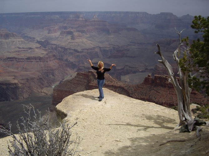 Visiting the Grand Canyon was a wonderful experience.  Will have to visit again someday.  Enjoy...