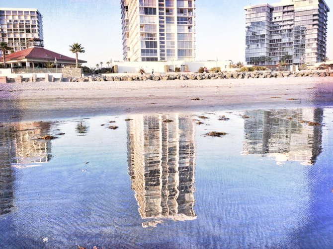 Coronado reflection