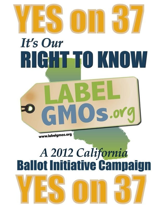 Endorse Prop 37.  Visit www.CaRightToKnow.org