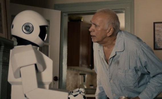Robot and Frank Langella.