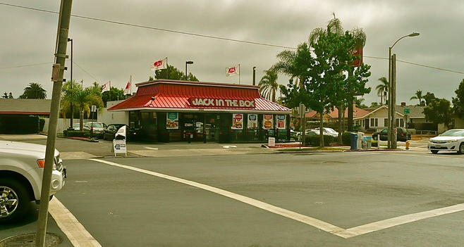 The old Jack in the Box at 2959 Upas Street