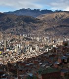 The highest capital in the world, La Paz, Bolivia, sits at roughly 11,975 feet above ...
