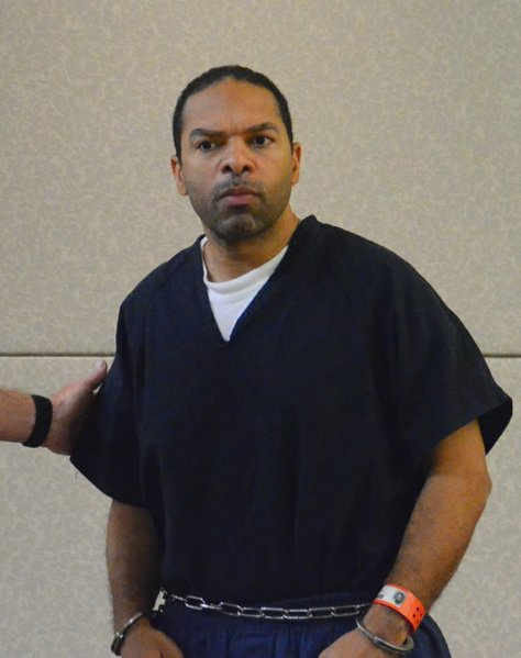 Co-defendant Louis Perez is said to be the father of Maraglino's baby.  Photo Weatherston.